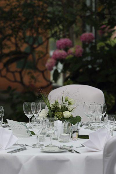Hochzeit Catering im Plangarten