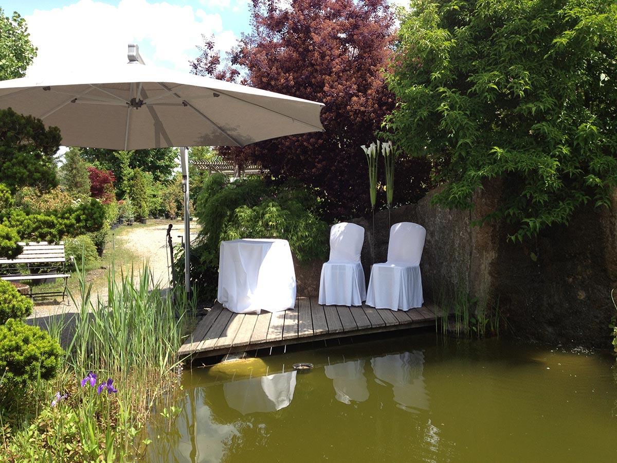 Teich Plangarten