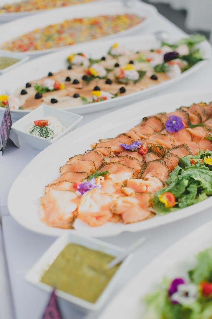 Catering Fischplatte