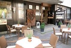 Sommerterasse eines Restaurants in Echterdingen