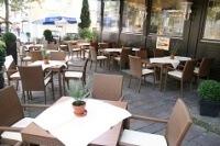 Sommerterrasse des Restaurant Ratsstuben