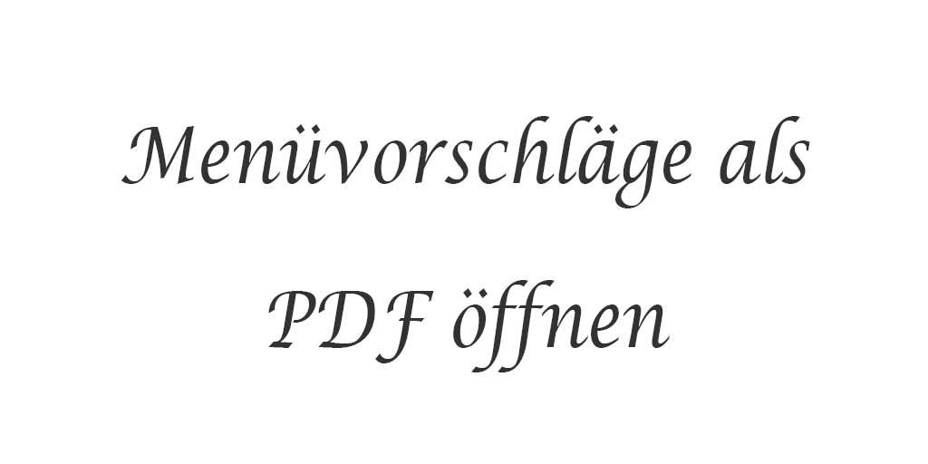 Menüvorschläge als PDF öffnen - Text