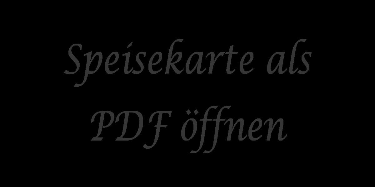 Speisekarte als PDF öffnen - Text